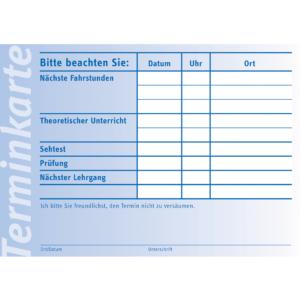 """Terminkarte """"Nächster Unterricht""""-0"""