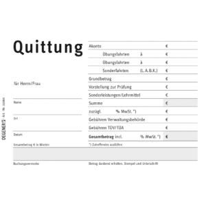 Quittungsblock-0