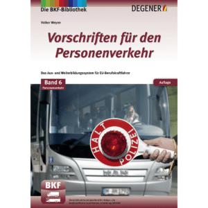 Teilnehmerband 6P Vorschriften Personenverkehr-0