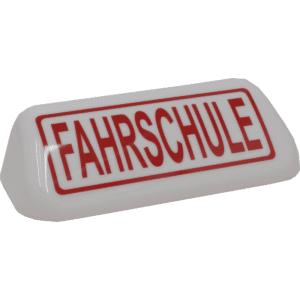 "Dachschild ""Fahrschule"" (Haube)-0"