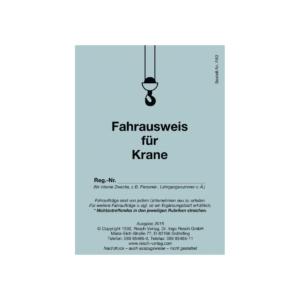 Fahrausweis für Krane (10 Stück)-0