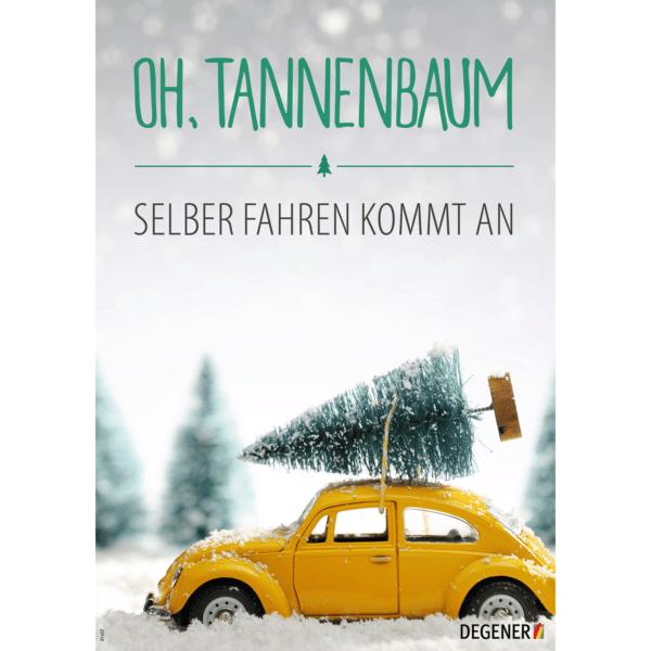 "Poster ""Oh, Tannenbaum""-0"