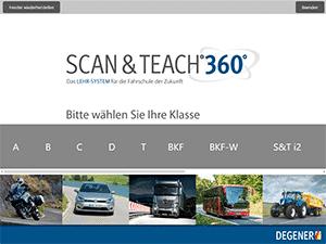SCAN & TEACH 360°