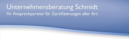 Unternehmensberatung Schmidt