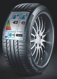 Das EU-Reifenlabel