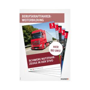 Poster BKF-Weiterbildung - Schwere Nutzfahrzeuge in der StVO-0