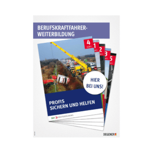 Poster BKF-Weiterbildung - Profis sichern und helfen-0