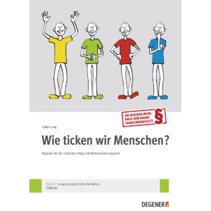 """""""Wie ticken wir Menschen?"""" - Set Buch + Lernkarten-0"""