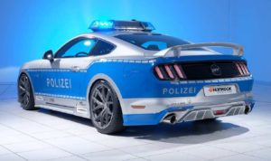 Polizeifahrzeug, Ford Mustang. © TUNE IT! SAFE!