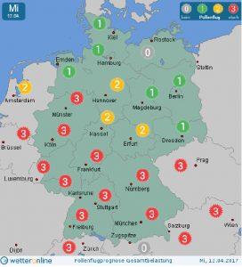 Pollenflug-Infos