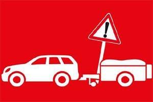 Vorsicht mit kleinen Anhängern. © ACE