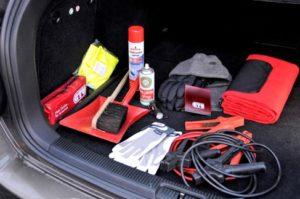 Bestens vorbereitet durch den Winter – Starthilfe-Kabel inklusive. © GTÜ