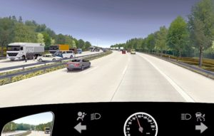 Wer nicht helfen kann, sollte an einer Unfallstelle vorsichtig vorbeifahren und Platz für die Helfer machen ... © DEGENER