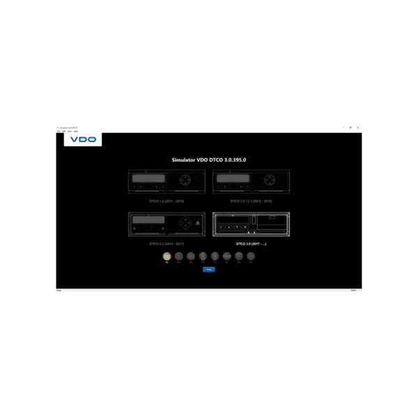 Simulator DTCO 1.4 – 3.0 USB - virtueller Fahrtenschreiber-3024