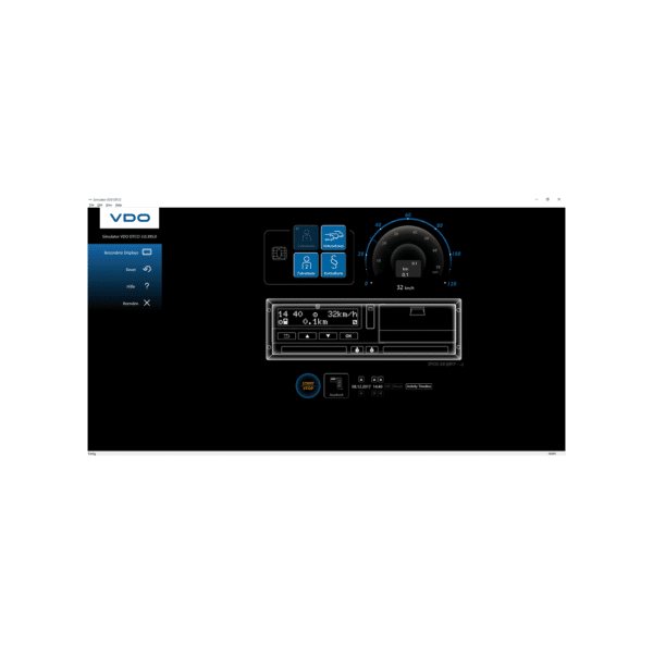 Simulator DTCO 1.4 – 3.0 USB - virtueller Fahrtenschreiber-3025