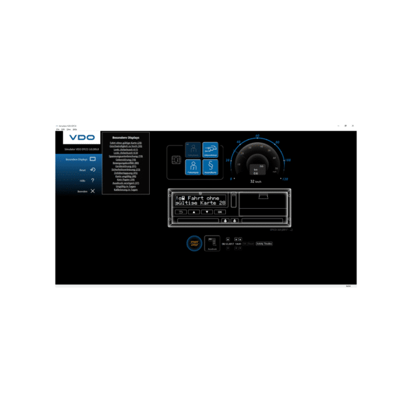 Simulator DTCO 1.4 – 3.0 USB - virtueller Fahrtenschreiber-0