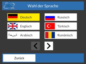 Fahrsimulator 360° simdrive Fremdsprachen-Module