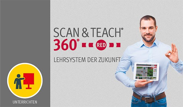 DEGENER SCAN & TEACH 360° RED