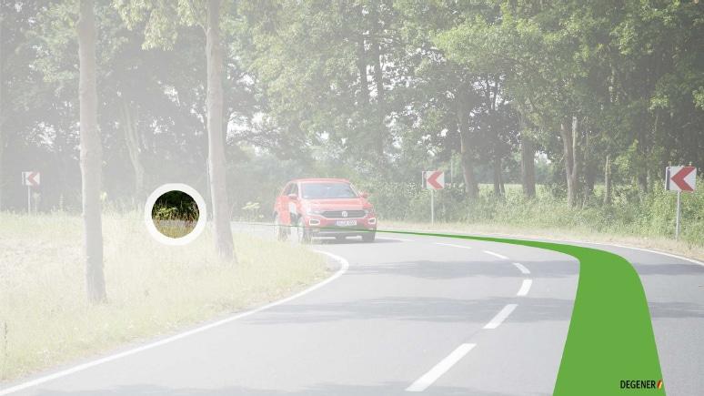 """Neues zum Thema """"Fahren und Blickführung in der Kurve"""" © DEGENER"""