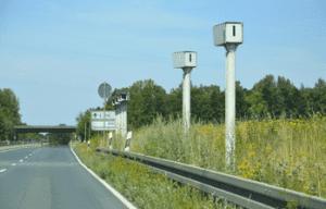 Abschnittskontrolle bei Hannover