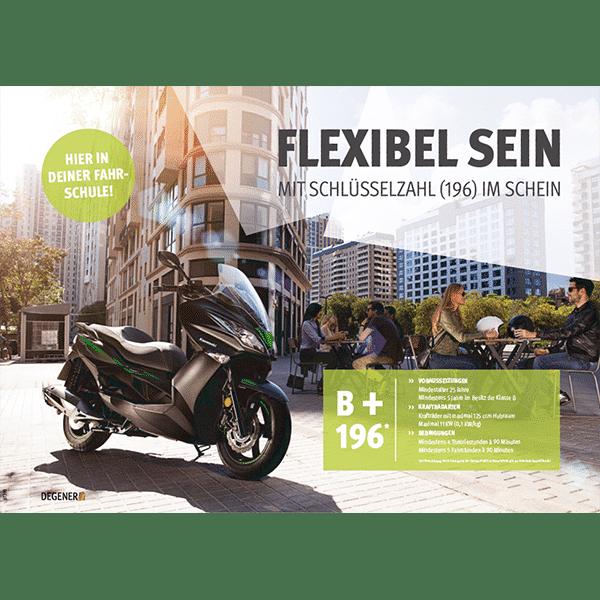 81393-B196-Poster-A1-Flexibel-sein-mit-dem-B196-Schein