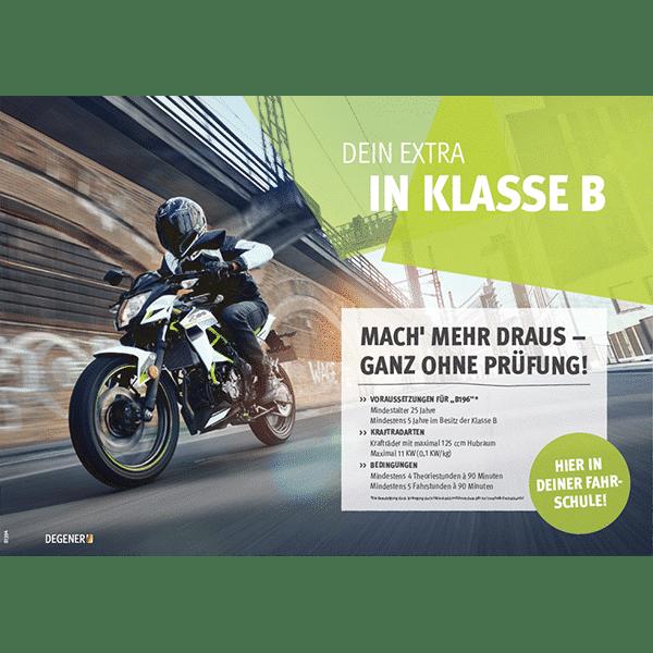 81394-B196-Poster-A1-Dein-Extra-in-Klasse-B