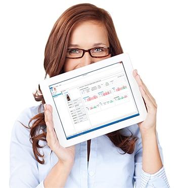 Fahrschuloffice 360° auf Tablet
