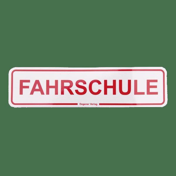 77987-Magnetschild-FAHRSCHULE