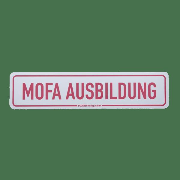 7990-Magnetschild-Mofa-Ausbildung