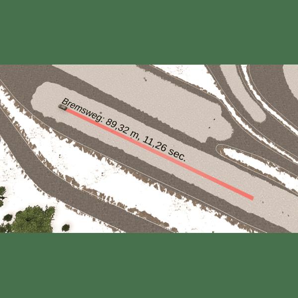 DEGENER Fahrsimulator Winter-Übungsplatz