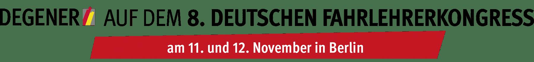 8. Deutscher Fahrlehrerkongress 2021 Berlin